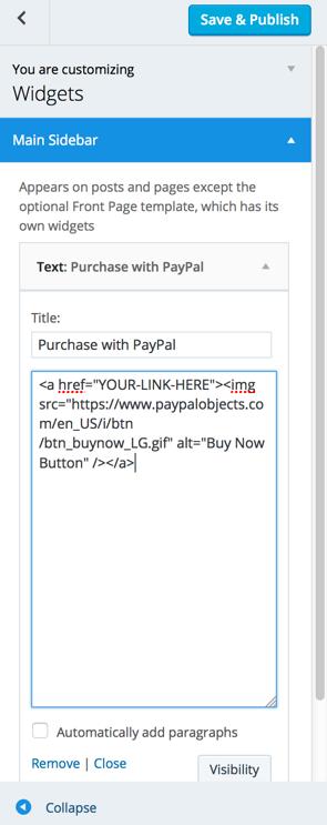 PayPal — Support — WordPress.com