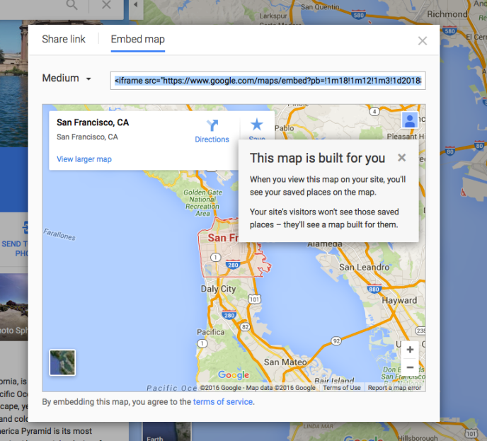 Google Maps — Support — WordPress.com