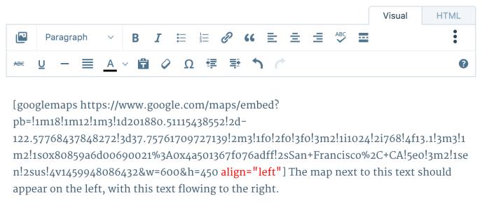 map-align