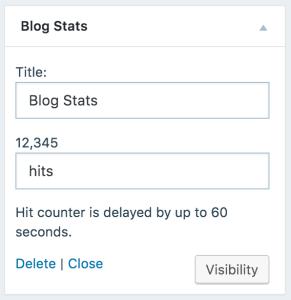 blog-stats-widget-wordpress
