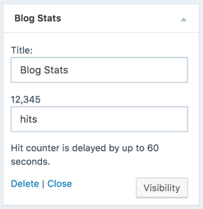 blog-stats-widget-wordpress