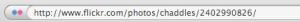 Flickr URL