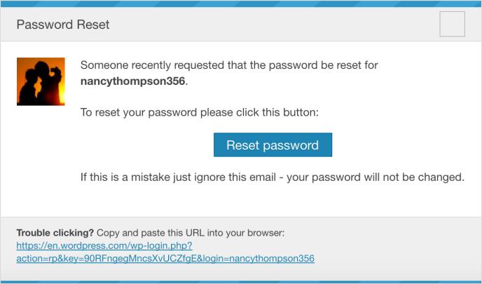 Passwords — Support — WordPress com