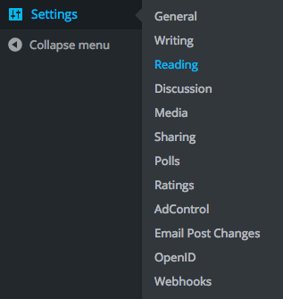 settings-reading-wp-admin
