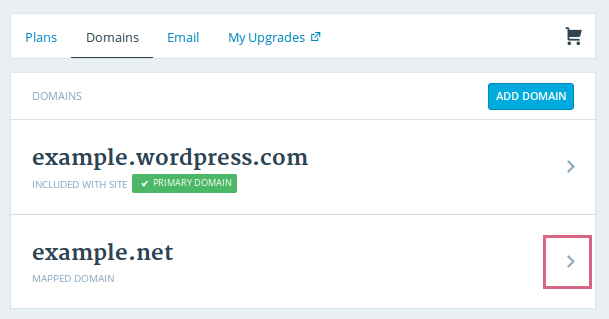 Adding a Domain on WordPress
