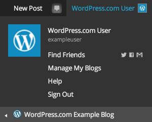 My Blogs — Support — WordPress.com