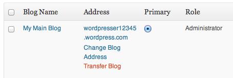 Transfer Blog