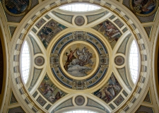 Ceiling of Széchenyi Baths