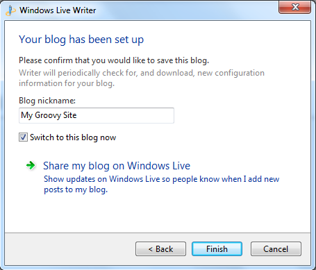 Windows Live Writer — Support — WordPress com
