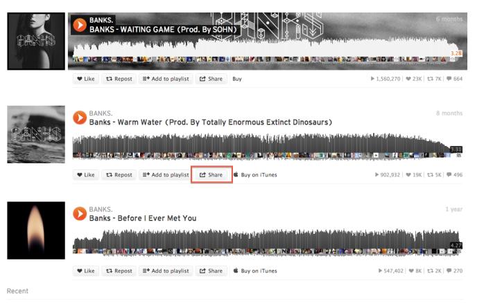 SoundCloud - Track