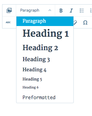 image of text styles