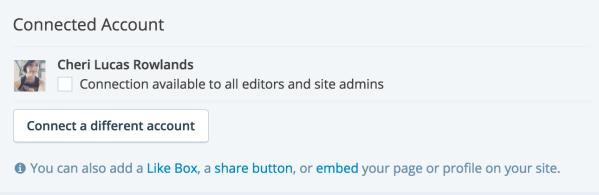 Verbindung für alle Website-Admins