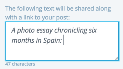 Publicize-bericht aanpassen