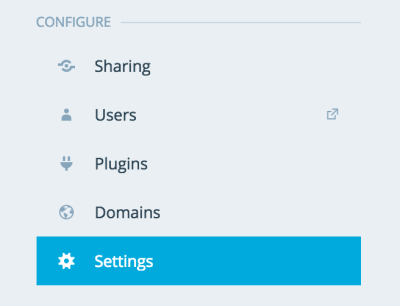 Configure-Settings