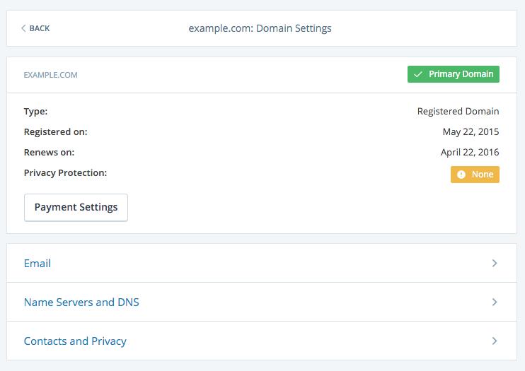Custom DNS Support WordPresscom