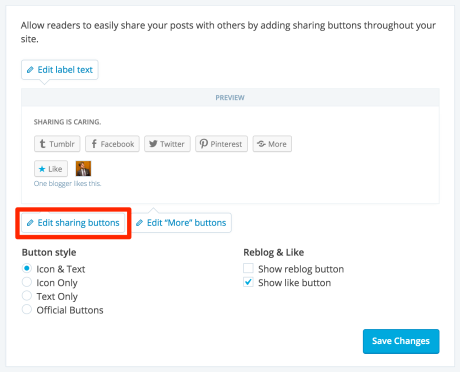 Sharing support wordpress sharingbuttondetail1 ccuart Image collections