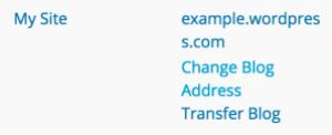 change-blog-address-wp-admin