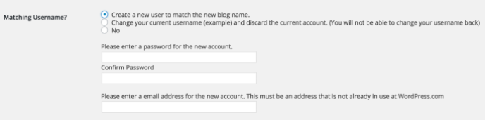 create-matching-username