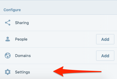 image of settings button