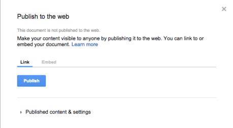 Google Docs Support Wordpress Com