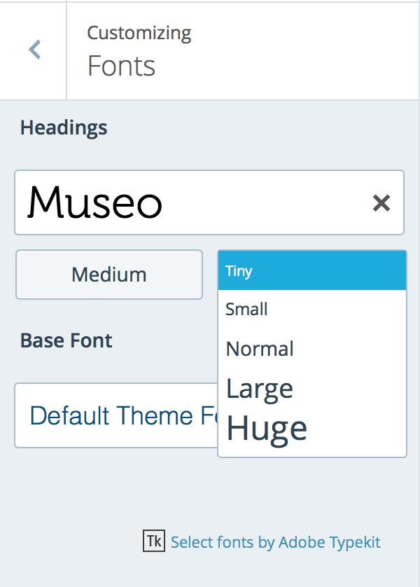 Custom Fonts — Support — WordPress.com