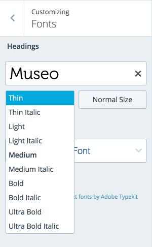 WordPress Font Color Html