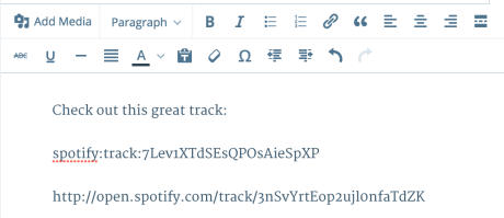 spotify embed code 1