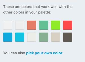 Custom Colors Support Wordpresscom