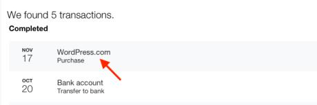 WordPress.com-Zahlungen über PayPal