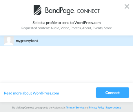 bandpage-my-groovy-band