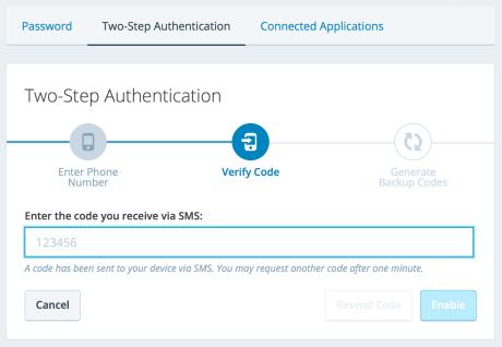 verify-code-sms