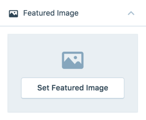 Step 2: Set a featured image on your featured posts