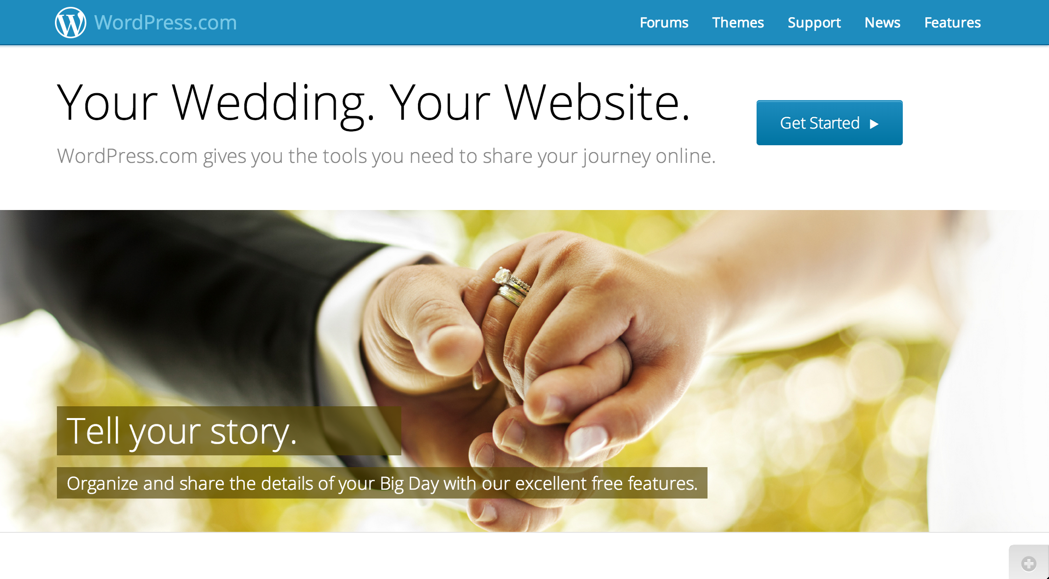 Wedding Website — Support — WordPress.com