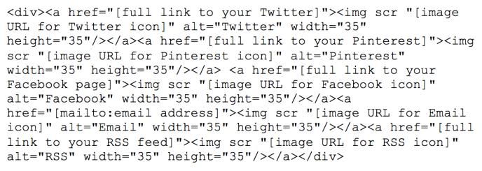 html-social-icons