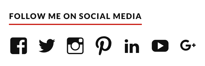 Add Social Media Buttons To Your Sidebar Or Footer Support