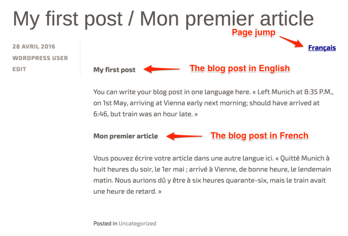 How to write a blogs