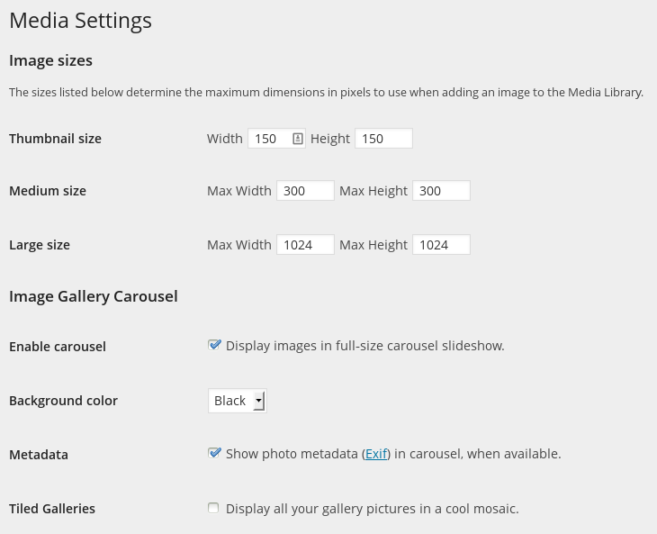 Galleries and Slideshows — Support — WordPress com