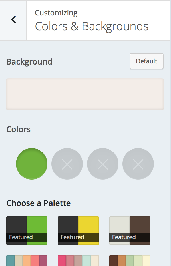 customize support wordpress com