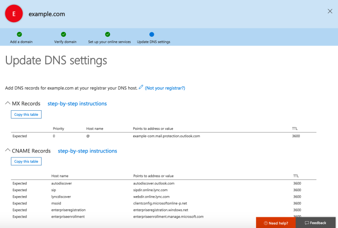Add Email through Office 365 — Support — WordPress com