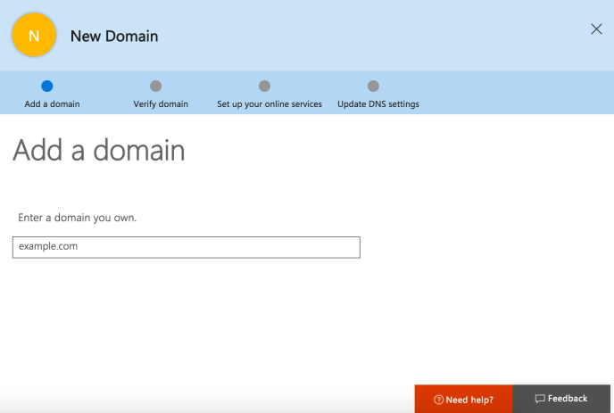 office-365-enter-domain