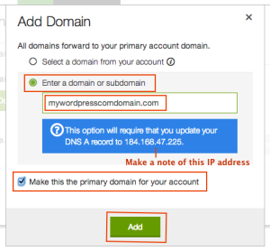 godaddy-add-domain-page