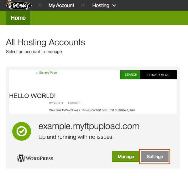 Point a WordPress.com Domain to GoDaddy