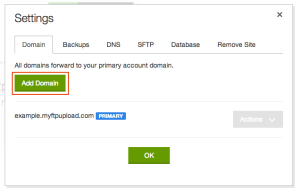 godaddy-settings-page
