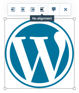 no-alignement-image