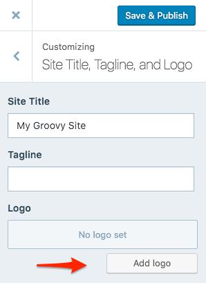 Site Logo — Support — WordPress.com