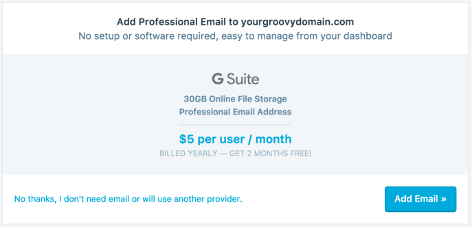 g suite how to reset a domain without support plan