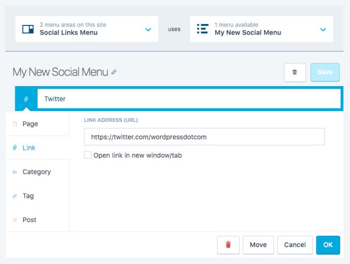 social-menu-wordpress