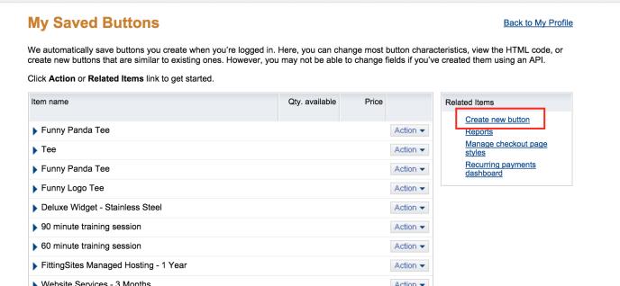 Come creare un pulsante PayPal su wordpress.com