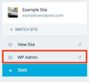 WP Admin