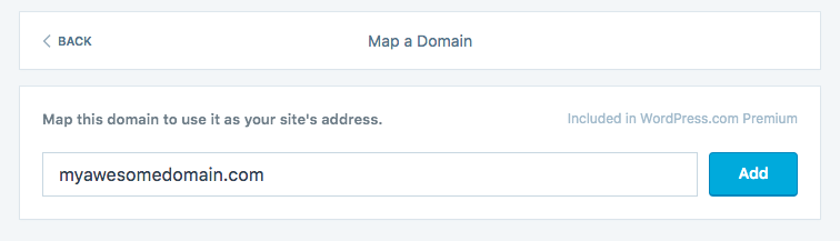 Use a Domain You Already Own Domain Mapping  Support